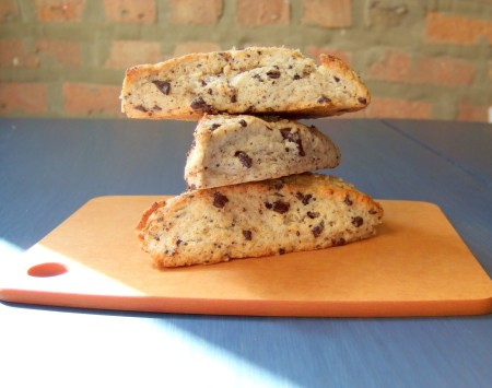 Chocolate Chunk Scones. From Blossom to Stem | www.blossomtostem.net