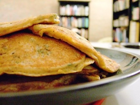 Chickpea Pancakes. From Blossom to Stem | www.blossomtostem.net