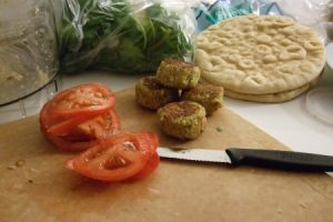 Falafel. From Blossom to Stem | www.blossomtostem.net