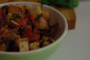 Panzanella. From Blossom to Stem | www.blossomtostem.net