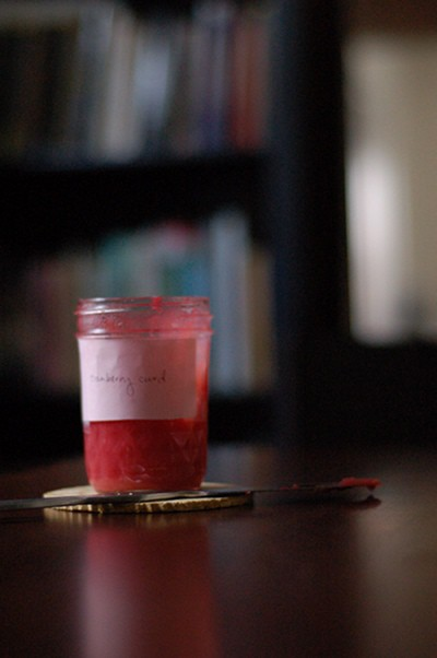 Cranberry Curd From Blossom To Stem | Because Delicious www.blossomtostem.net