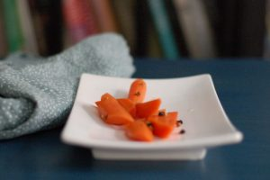 Quick Pickled Carrots. From Blossom To Stem | Because Delicious www.blossomtostem.net