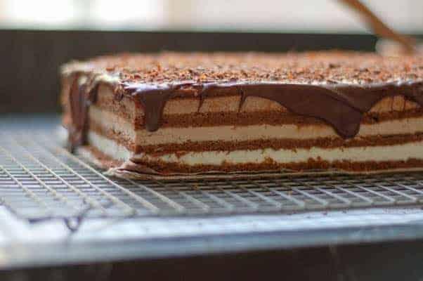 Recipe triple chocolate cake