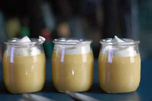 Passion Fruit Caramel Pots de Creme. So so so good. From Blossom To Stem   Because Delicious www.blossomtostem.net