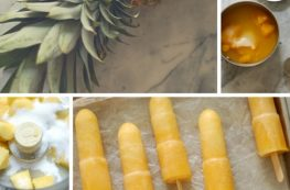 Pineapple Passion Fruit Popsicles. Bright, tropical, delightful! From Blossom to Stem | Because Delicious www.blossomtostem.net