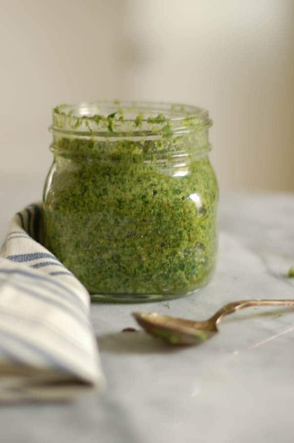 Dill, Parsley and Walnut Pesto
