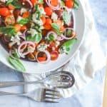 Tomato Blue Cheese Salad