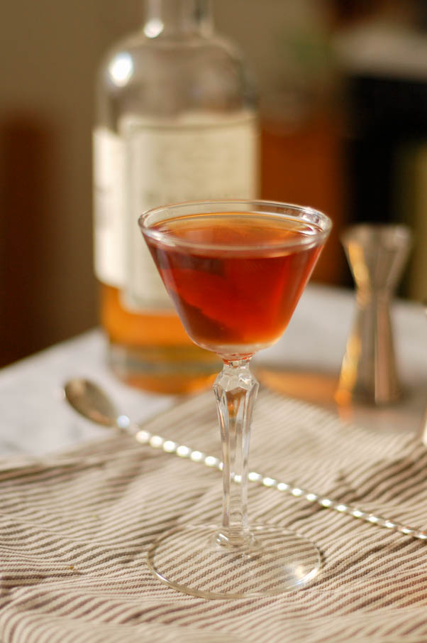 The Martinez Cocktail #thirstythursdays | Blossom to Stem