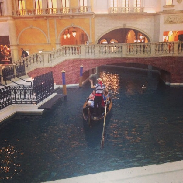 The Grand Canal at the Venetian, Las Vegas, NV From Blossom to Stem | Because Delicious www.blossomtostem.net