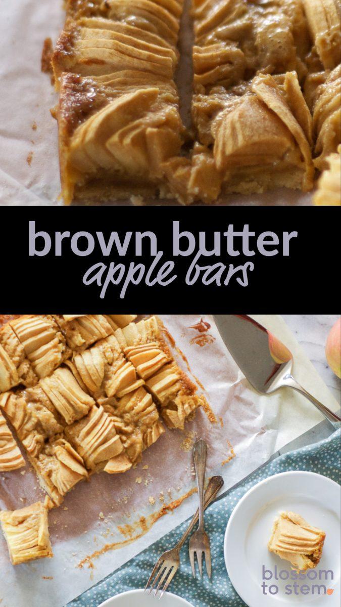 Brown Butter Apple Bars