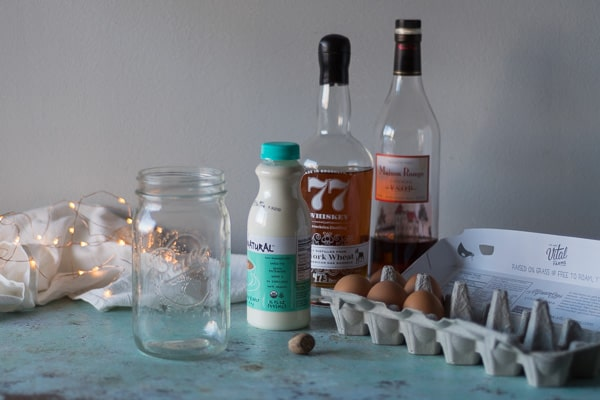 Small Batch Eggnog. A scaled-down boozy eggnog recipe for your holiday tippling. From Blossom to Stem   Because Delicious www.blossomtostem.net