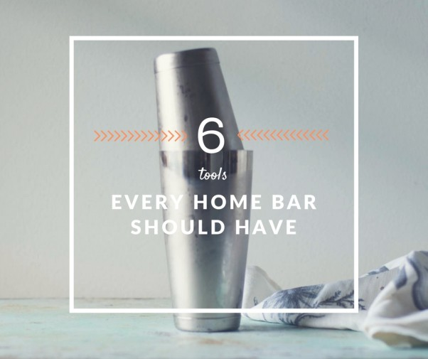 6 Tools Every Home Bar Should Have