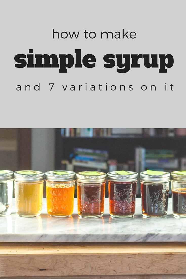How to Make Simple Syrup. From Blossom to Stem | www.blossomtostem.net