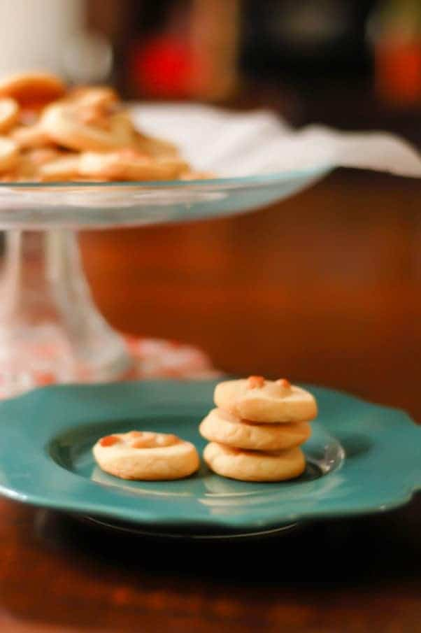 Rosemary Pine Nut Cookies. Nutty, buttery, herbaceous, sophisticated. From Blossom To Stem | Because Delicious www.blossomtostem.net