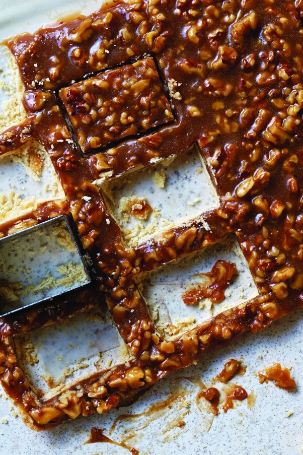 Honey Walnut Bars from Cookie Love (photograph by Dan Goldberg) from Blossom to Stem | Because Delicious www.blossomtostem.net