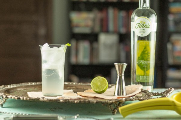 The All's Fair. Gin, lovage syrup, lime, soda. A refreshing alternative to a gin and tonic. From Blossom to Stem | Because Delicious www.blossomtostem.net