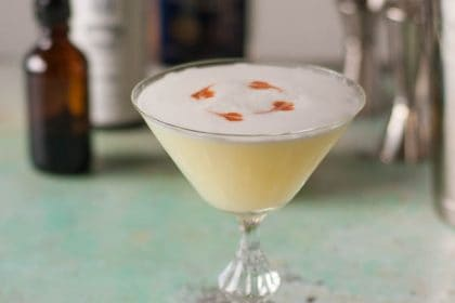 Pisco Sour. A frothy citrusy classic cocktail. From Blossom to Stem | Because Delicious | www.blossomtostem.net