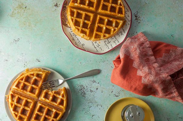 Antebellum Rice Waffles. Southern gluten-free waffles from the Big Jones Cookbook. From Blossom to Stem | Because Delicious | www.blossomtostem.net
