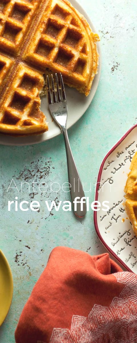 Antebellum Rice Waffles. From Blossom to Stem | www.blossomtostem.net