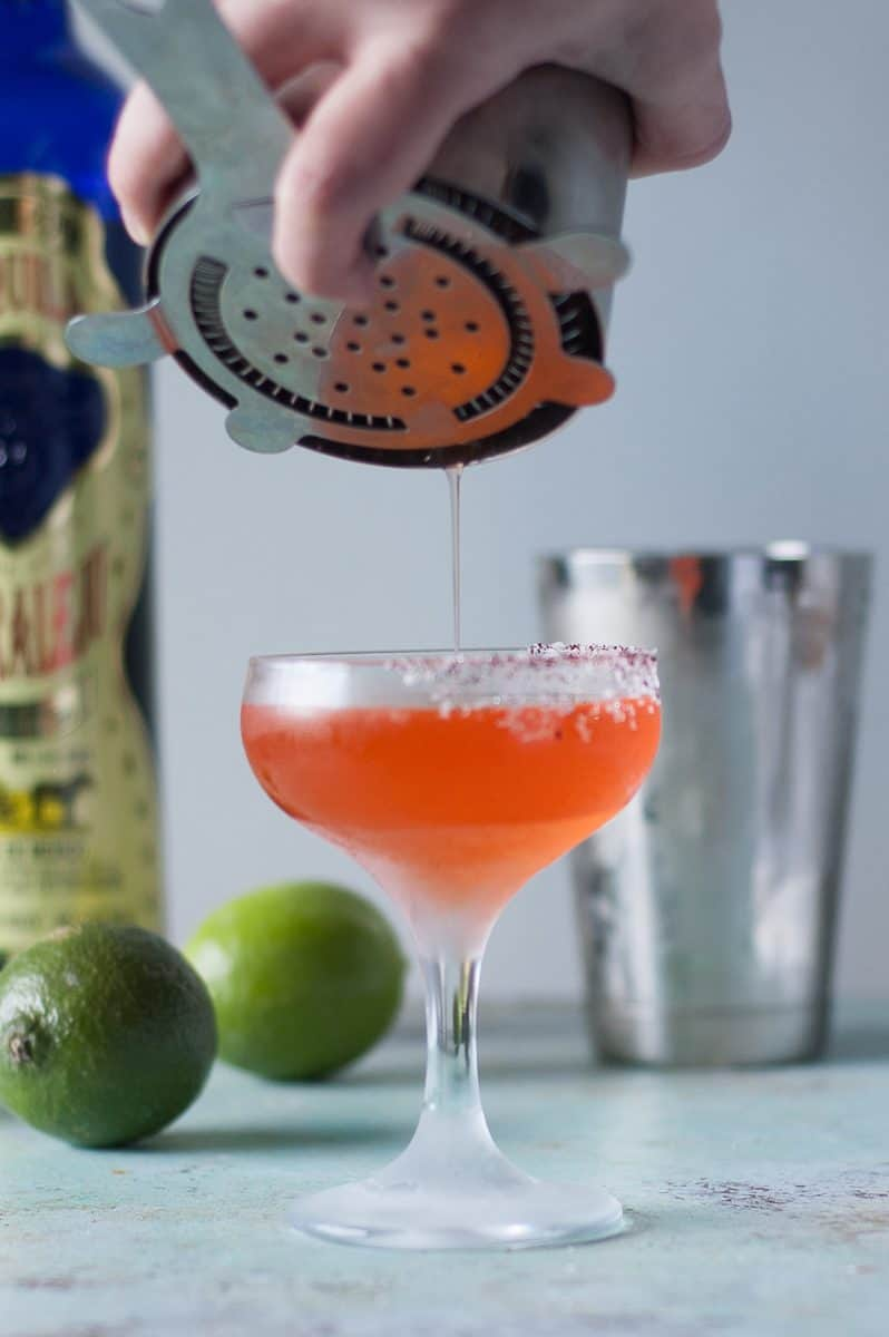 Aperol and Eldrflower Margarita
