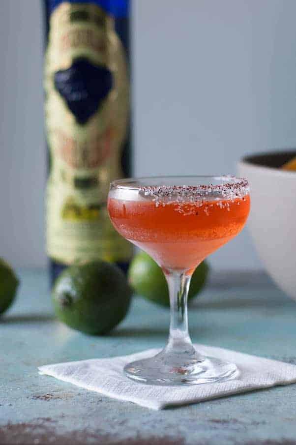 Aperol and Elderflower Margarita