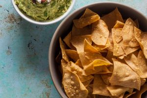 Bacon Blue Cheese Guacamole. From Blossom to Stem | Because Delicious | www.blossomtostem.net