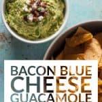 Bacon Blue Cheese Guacamole
