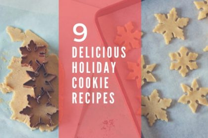 9 Delicious Holiday Cookie Recipes. From Blossom to Stem | Because Delicious | www.blossomtostem.net