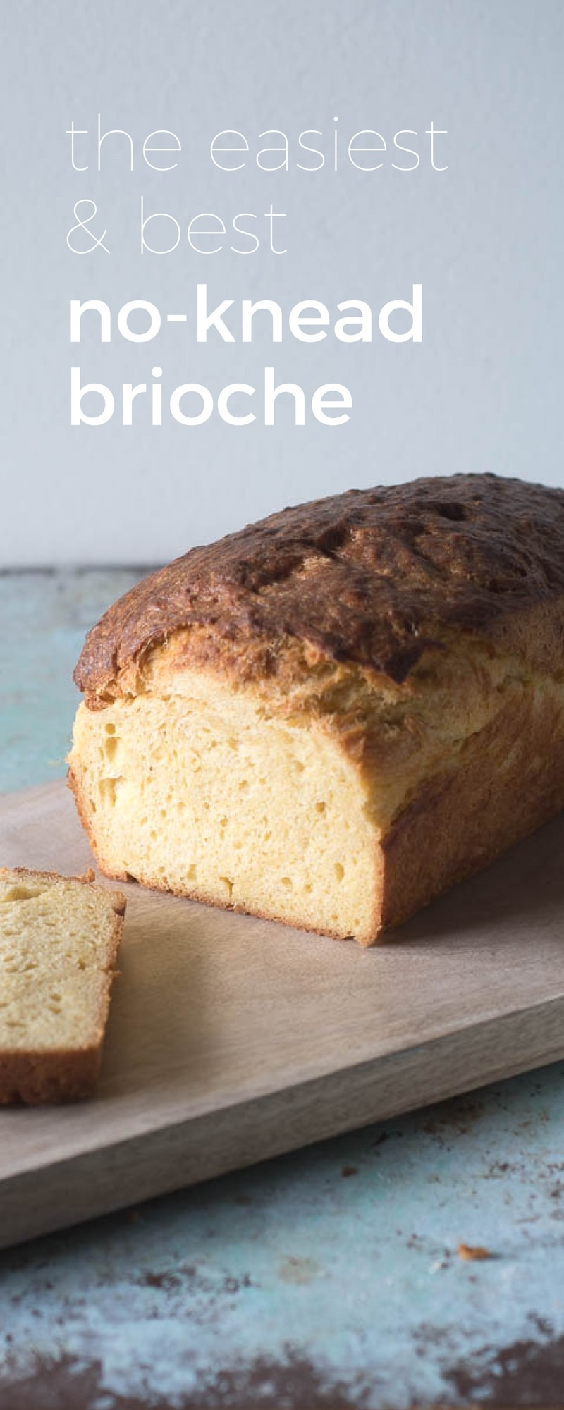 No-knead Brioche. Rich and buttery. The easiest and best brioche there is. From Blossom to Stem | www.blossomtostem.net