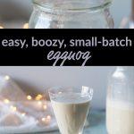 Easy, boozy, small-batch eggnog
