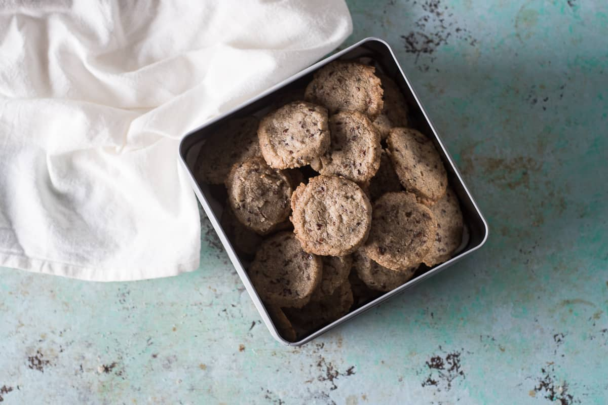 Nibby Buckwheat Cookies