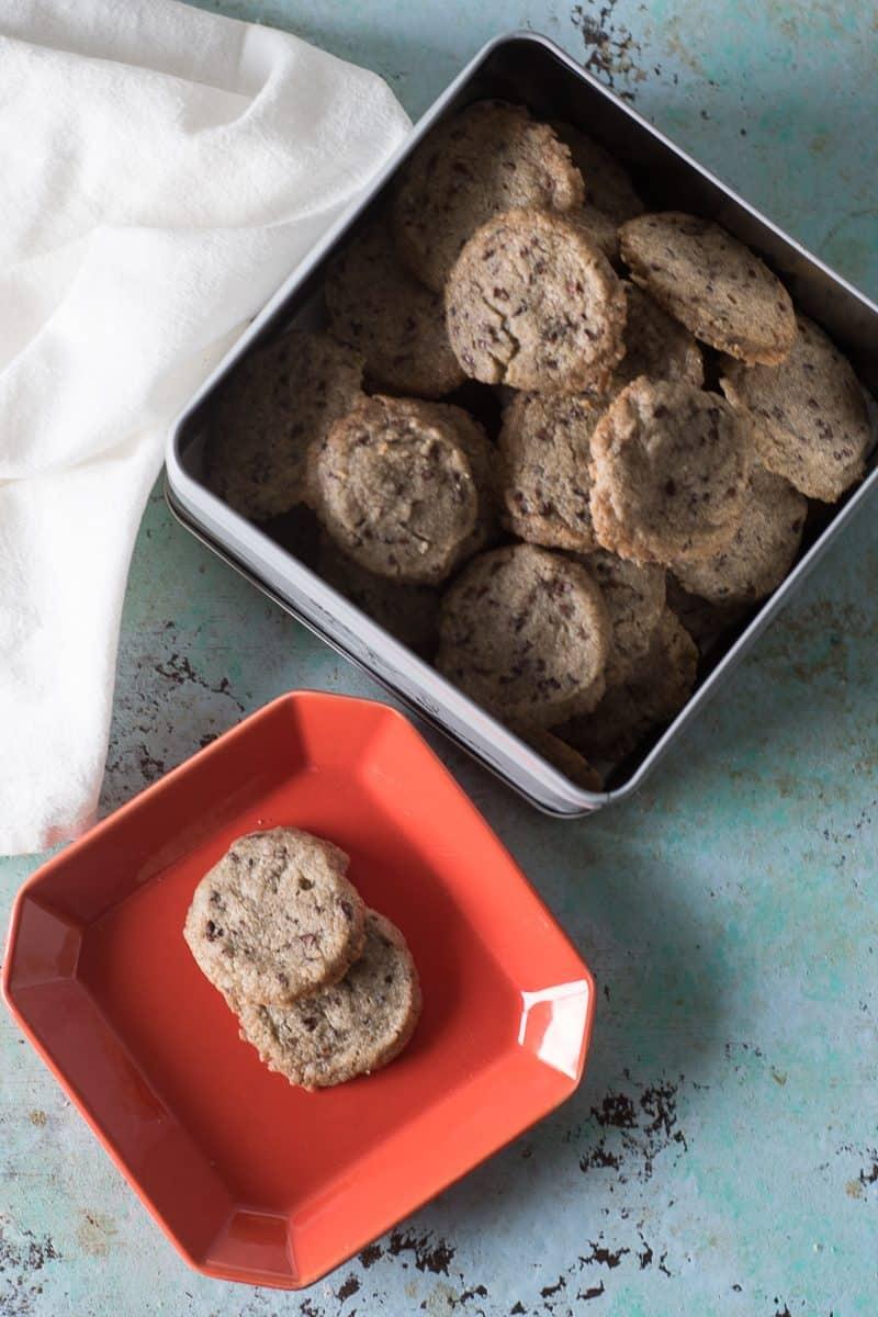 Nibby Buckwheat Cookies