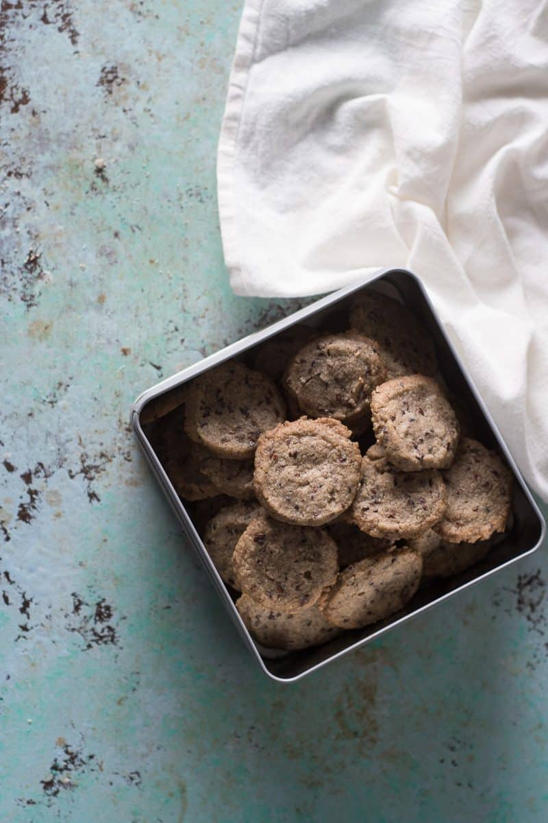 Nibby Buckwheat Cookies. Blossom to Stem | Because Delicious | www.blossomtostem.net