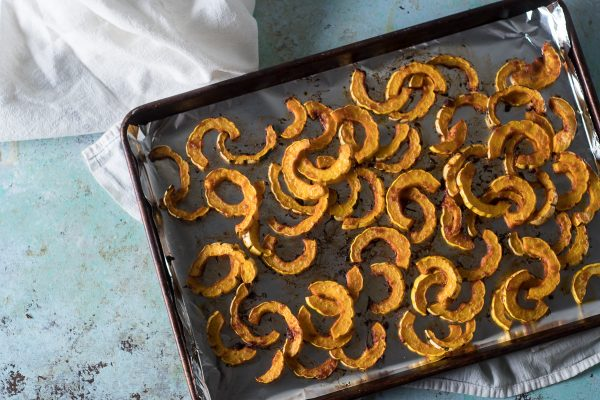 Gochujang Roasted Delicata Squash. From Blossom to Stem | www.blossomtostem.net