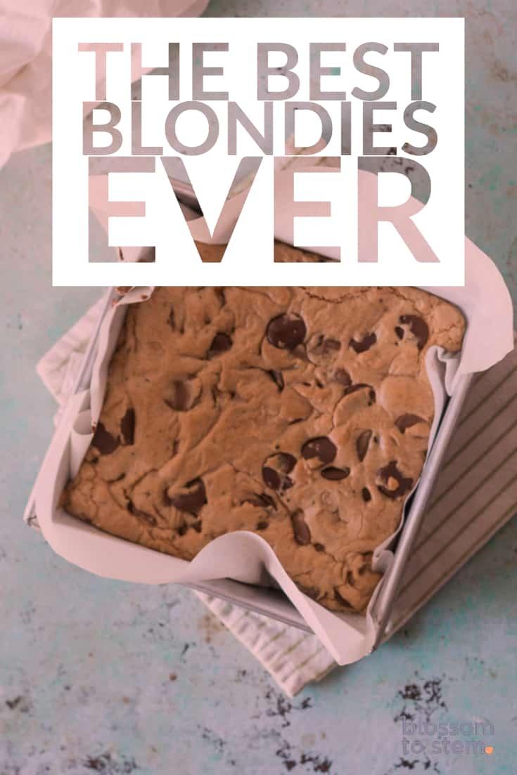 The Best Blondies Ever