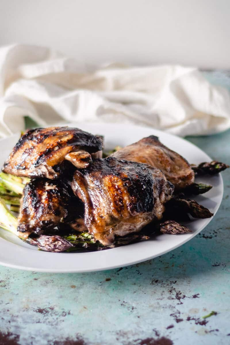 Lemon Balsamic Grilled Chicken