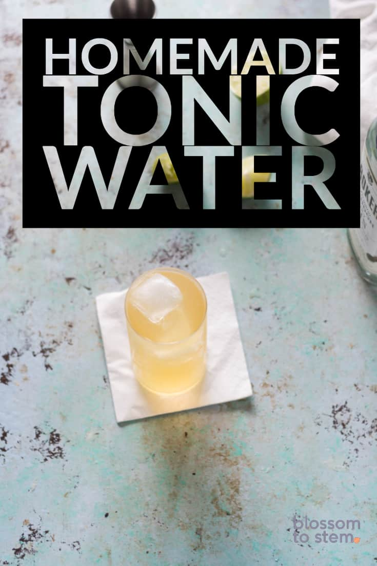 Homemade Tonic Water