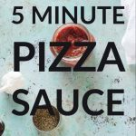 5 Minute Pizza Sauce