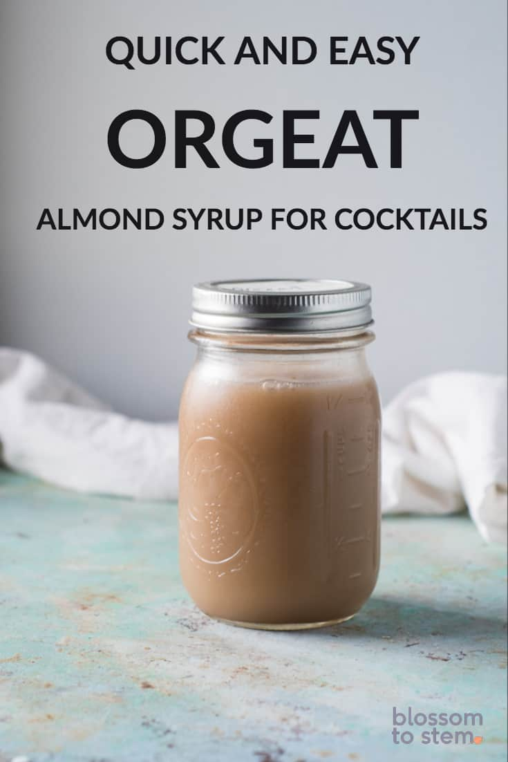 Quick and Easy Orgeat