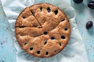 Almond Anise Plum Torte. From Blossom to Stem | www.blossomtostem.net