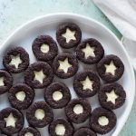 Citrus Clove Chocolate Sandwich Cookies