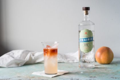 Dusk on the Prairie, a gin cocktail