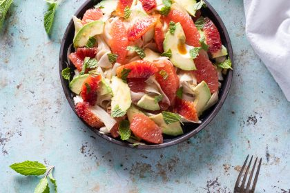 Citrus Avocado and Shaved Fennel Salad