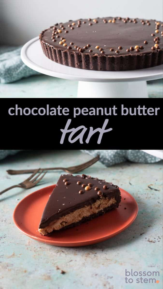 Chocolate Peanut Butter Tart