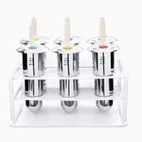 Onyx 18/8 Stainless Steel Popsicle Mold, Set of 6
