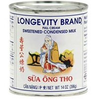 Longevity Sweetened Condensed Milk 14 Oz. (Pack of 6)