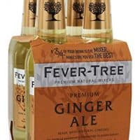 Fever-Tree - Premium Ginger Ale Mixers - 4 Pack