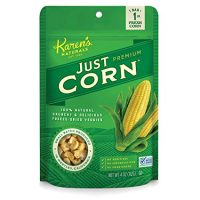 Karen's Naturals Just Corn, 4 Ounce Pouch (Packaging May Vary) All Natural Freeze-Dried Fruits & Vegetables, No Additives or Preservatives, Non-GMO