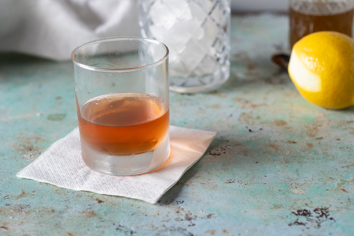 Sazerac. A classic, spirit-forward New Orleans cocktail with rye, absinthe, Peychaud's bitters and simple syrup. (Originally made with cognac.)