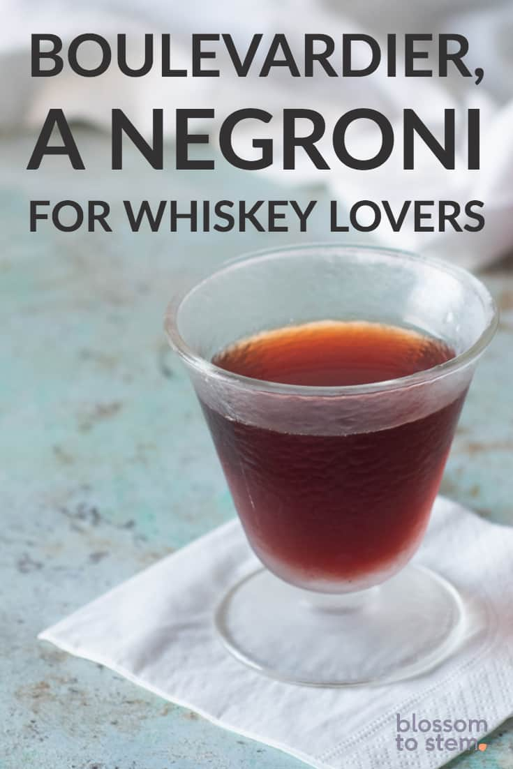 Boulevardier a Negroni for Whiskey Lovers